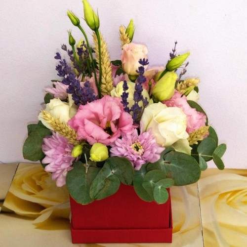 BOX Λουλούδια εποχής