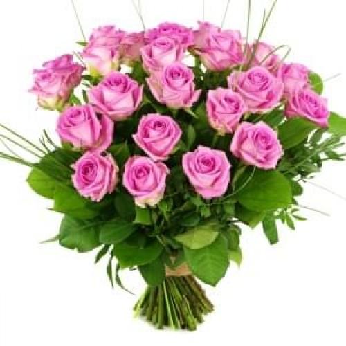 Μπουκέτο φούξια τριαντάφυλλα